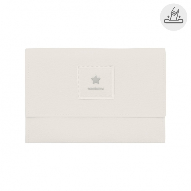 BABY WIPES COVER BASIC BEIGE 13x22 CM