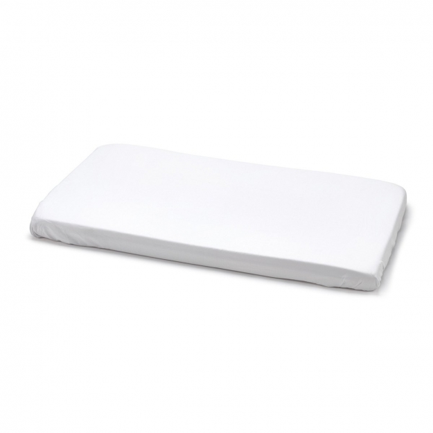 FITTED SHEET - SMALL BED LISO E WHITE 50x82 CM