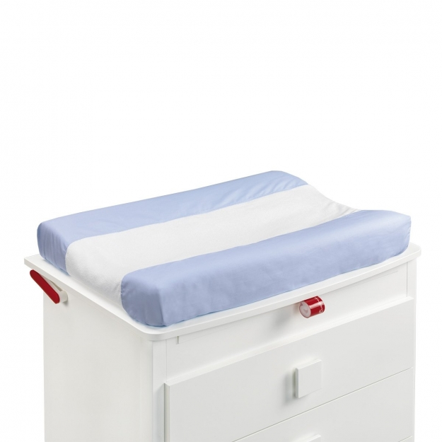 CHANGING MAT COVER LISO E BLUE 52x72 CM