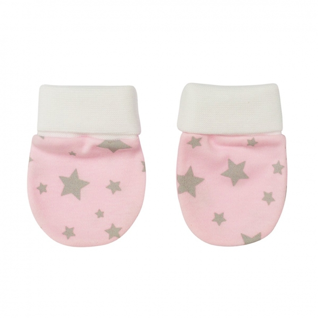 PAIR OF MITTENS 376,1 PINK