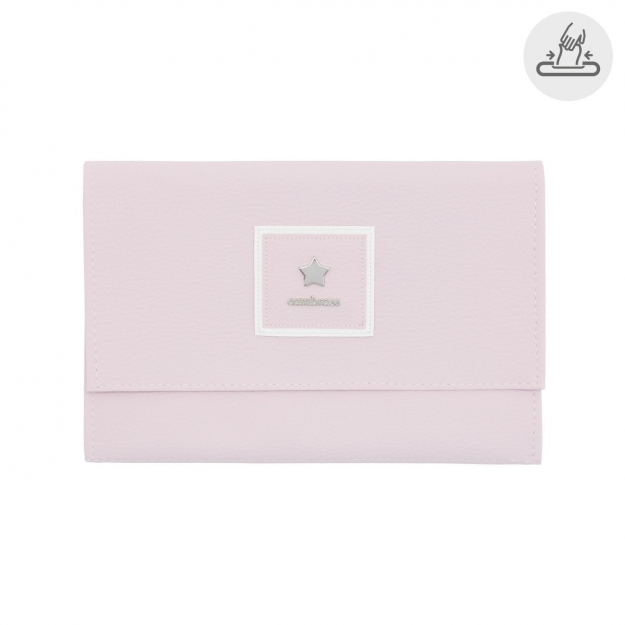 BABY WIPES COVER BASIC PINK 13x22 CM