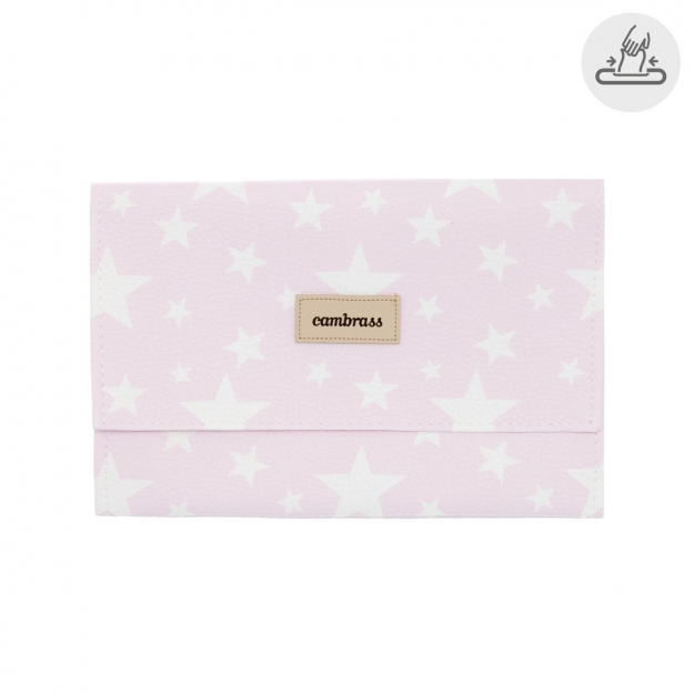 BABY WIPES COVER ETOILE PINK 13x22 CM