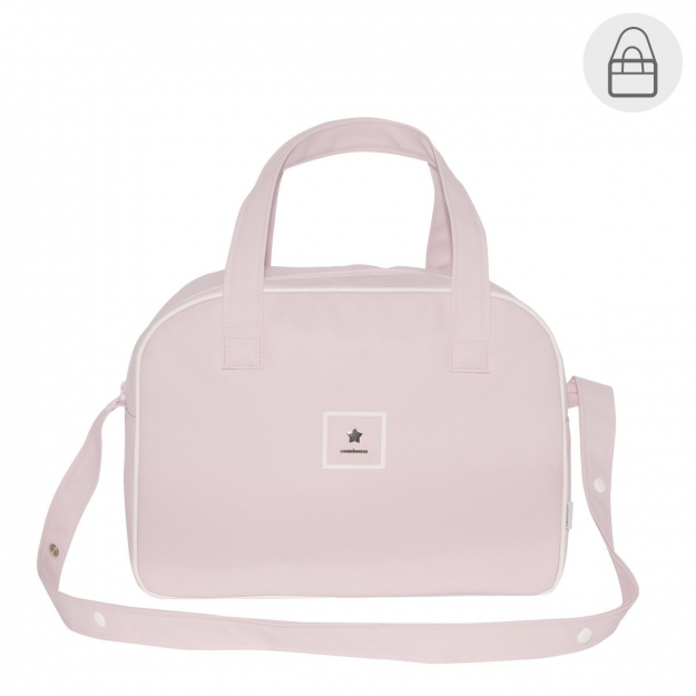 MATERNITY BAG PROME BASIC PINK 18x44x33 CM