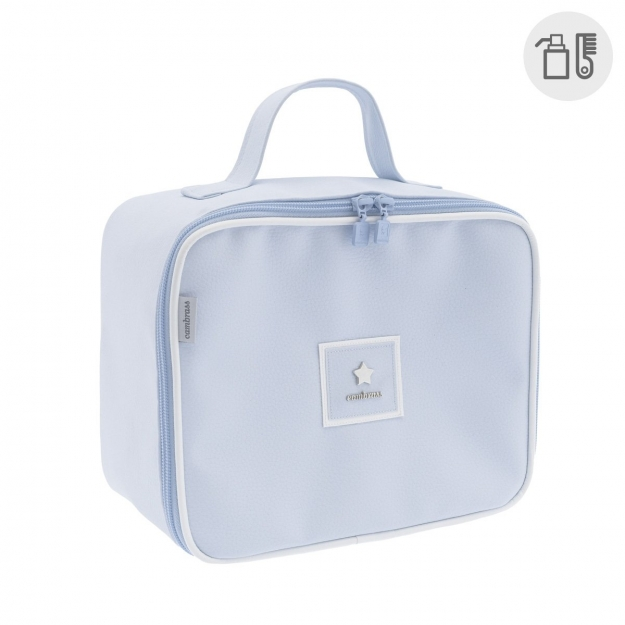 MATERNITY BAG SQUARE BASIC BLUE 16x25x21 CM