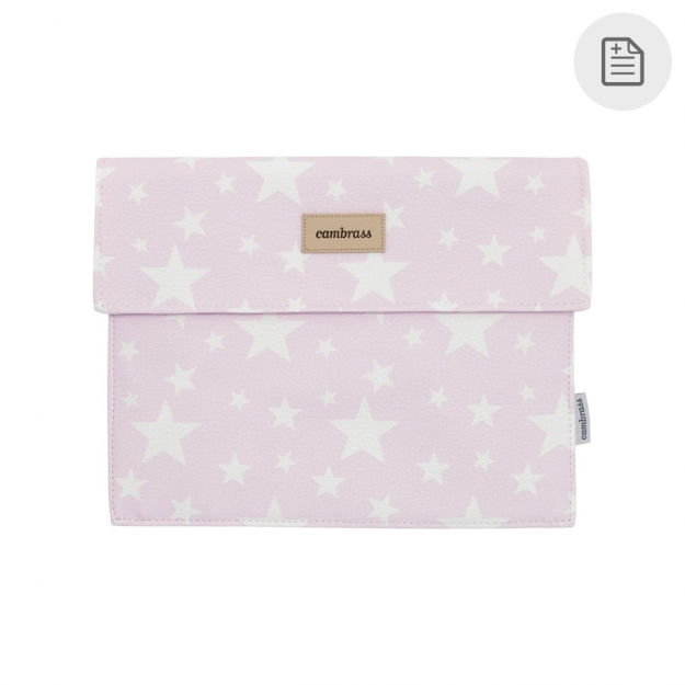 PAPER CARRIER ETOILE PINK 3x17x25 CM