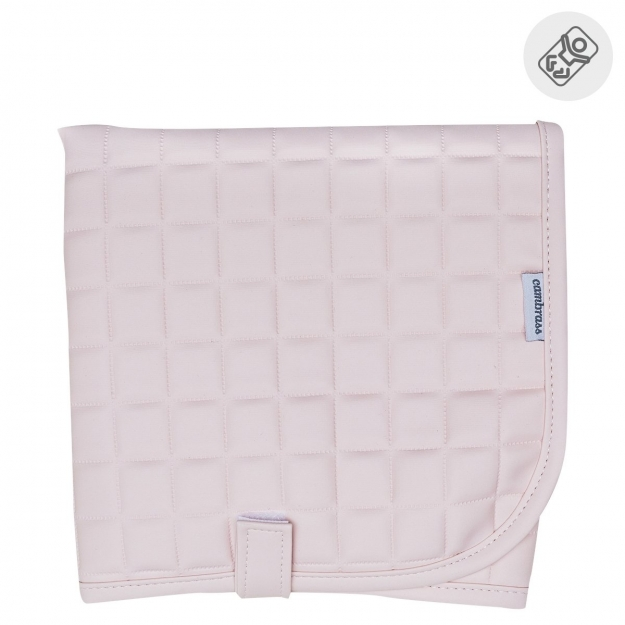 NAPPY CHANGER GOFRE PINK 40x60 CM