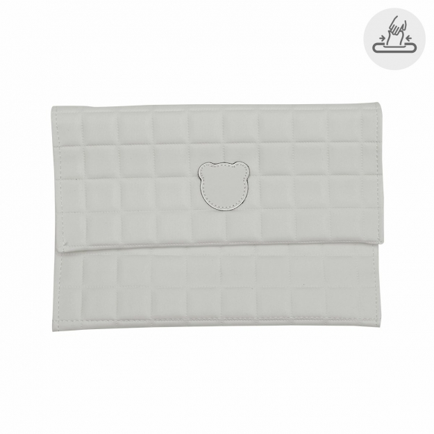 BABY WIPES COVER GOFRE BEIGE 13x22 CM