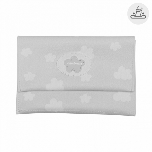 BABY WIPES COVER NUBE GREY 13x22 CM