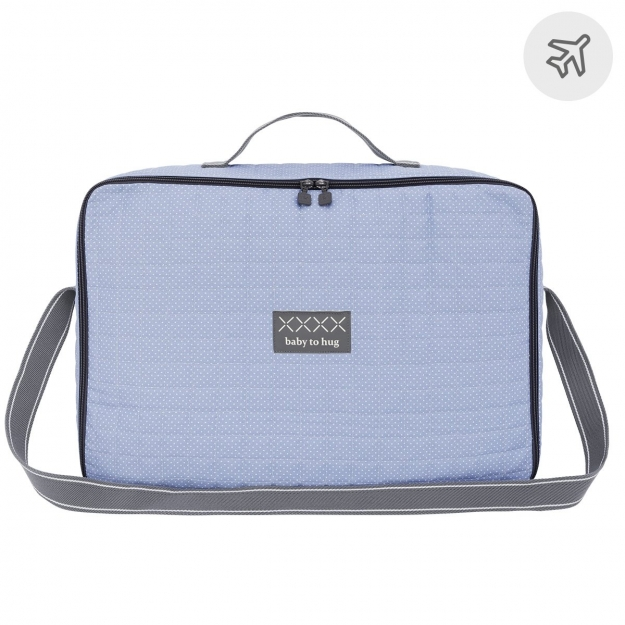 SUITCASE BABY CLINIC PIC BLUE 12x47x36 CM