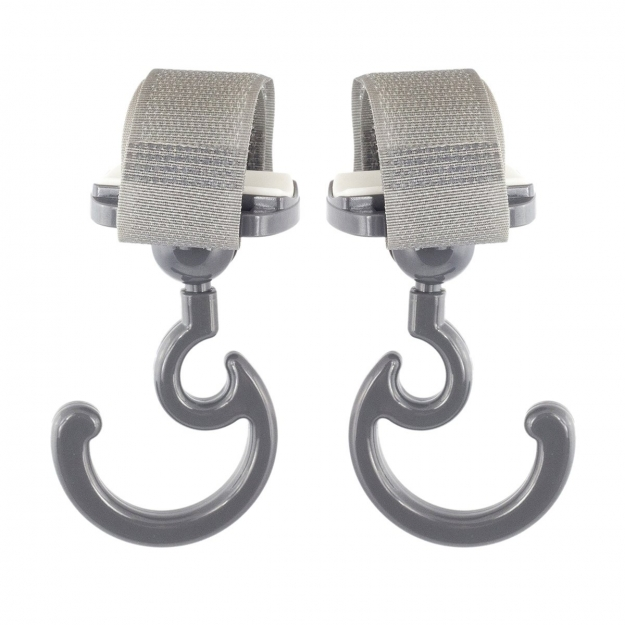 STROLLER MAGIC HOOK SOLID GREY