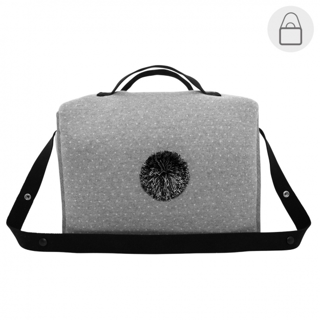 MATERNITY BAG TABELA DEKU GREY 17x43x26 CM