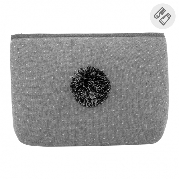 TOILET BAG DEKU GREY 6x28x20 CM