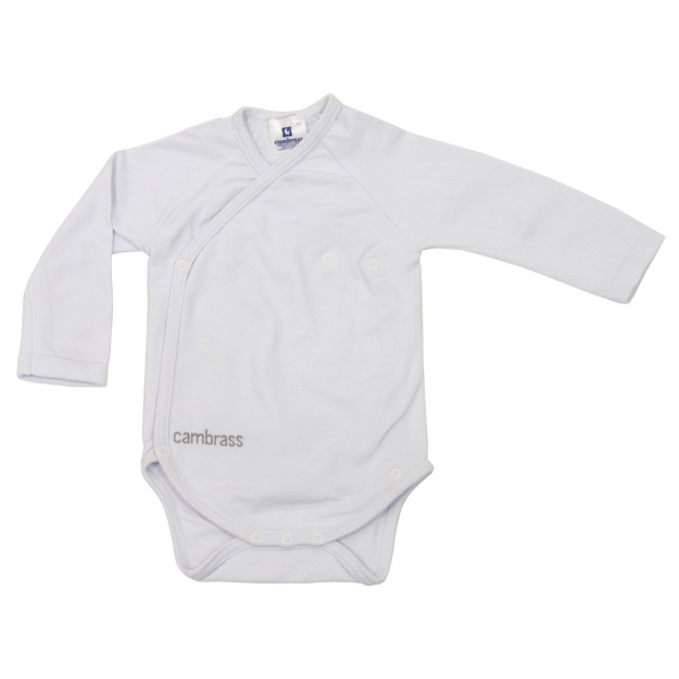 BODY L.SLEEVE CROSSED THERM WHITE T.0 - 3