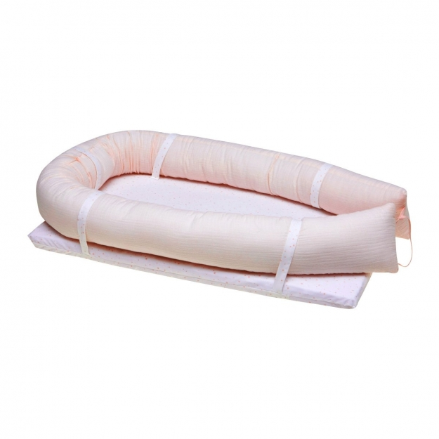 BED IN BED ASTRA PINK 42x77x14 CM