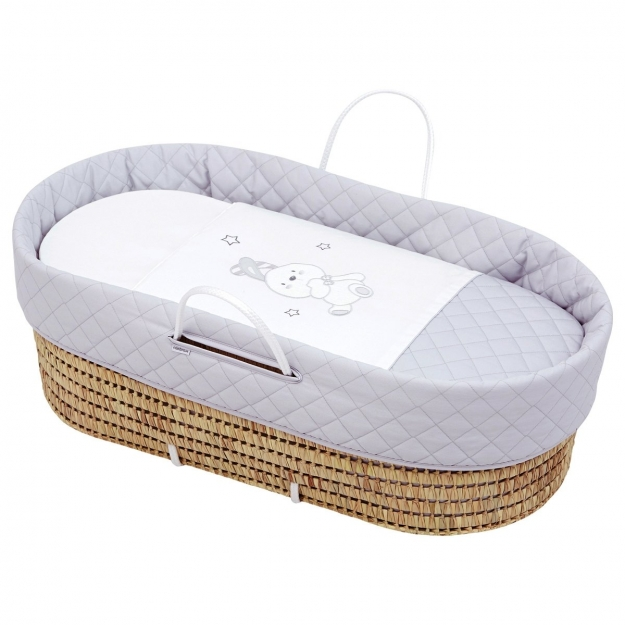 QUILTED BASKET UNE DOLCE BEIGE 44x81 CM