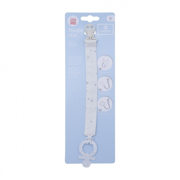 DUMMY TAPE HOLDER ASTRA BLUE/STAR 2x21.5 CM