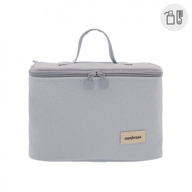 VANITY BAG LUXY GREY 16x25x16 CM