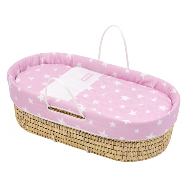 QUILTED BASKET UNE BE UNIVERSE PINK