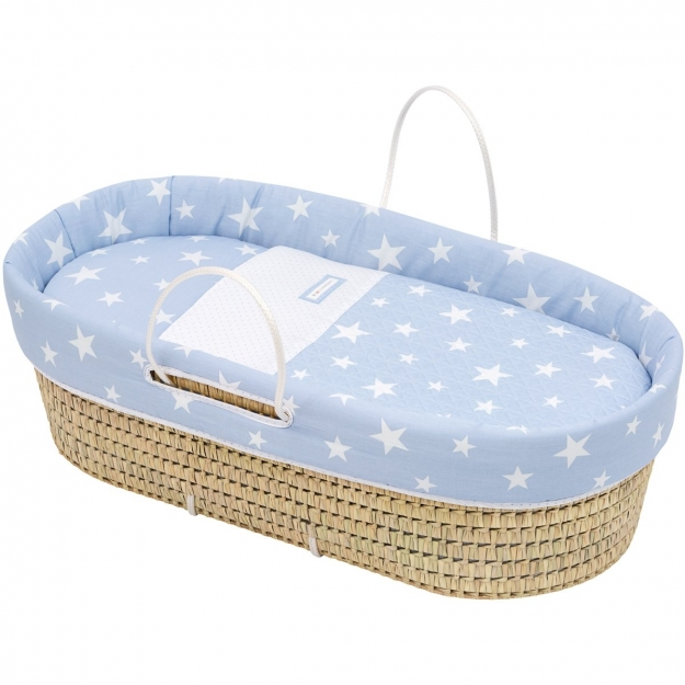 QUILTED BASKET UNE BE UNIVERSE BLUE