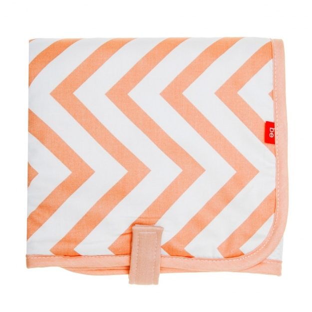 NAPPY CHANGER 39x65 CM BE ZIGZAG CORAL