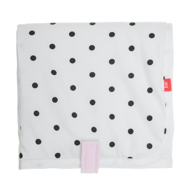 NAPPY CHANGER 39x65 CM BE DOTS PINK
