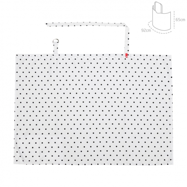 CUBRE  LACTANCIA BE DOTS UNICO 92x65 CM