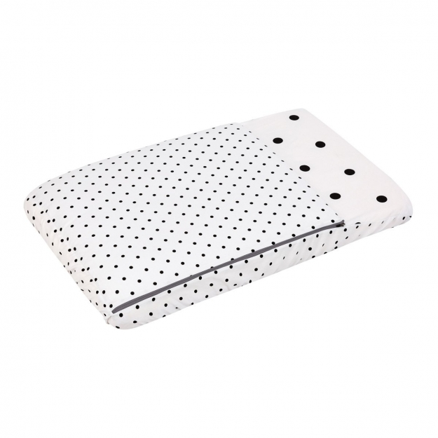 NEST FITTED SMALL BED W/S BE DOTS UNIC 49.5x83.5 CM