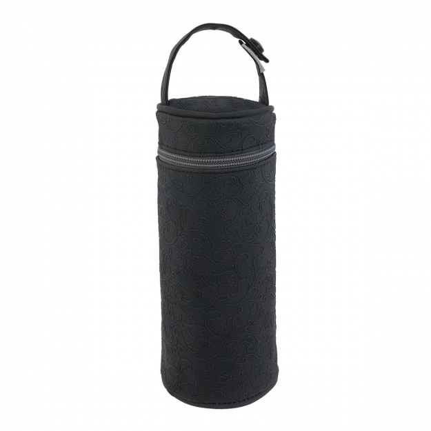 BOTTLE HOLDER ELITE BLACK 8.5x8.5x22 CM