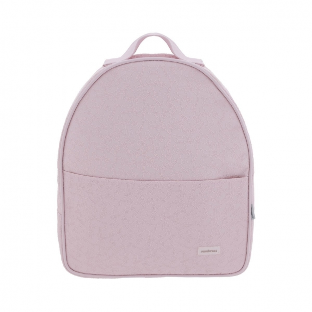 MATERNITY BACKPACK LUNA ELITE PINK 10x31x37 CM